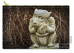 Contemplating Autumn Carry-all Pouch by Mary Machare