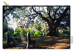 Carry-all Pouch featuring the photograph New Orleans Contemplating Solitude by Michael Hoard
