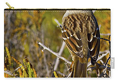 Carry-all Pouch featuring the photograph Contemplating The Day by Gary Holmes