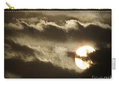Carry-all Pouch featuring the photograph Contrast by Clare Bevan
