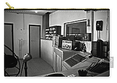 Control Room In Alcatraz Prison Carry-all Pouch