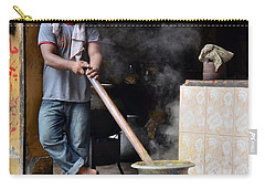 Cooking Breakfast Early Morning Lahore Pakistan Carry-all Pouch