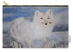 Cool Fox Carry-all Pouch by Francine Heykoop