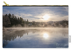 Cool November Morning Carry-all Pouch by Jola Martysz