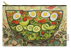 Cool Summer Salad Carry-all Pouch by Jen Norton