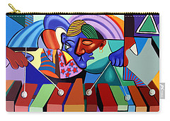 Carry-all Pouch featuring the painting Cool Vibes by Anthony Falbo