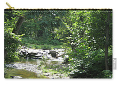 Carry-all Pouch featuring the photograph Cool Waters II by Ellen Levinson
