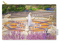 Coolidge Park Fountain In Spring Carry-all Pouch