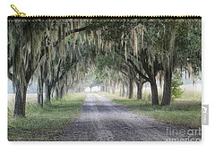 Coosaw Fog Avenue Of Oaks Carry-all Pouch
