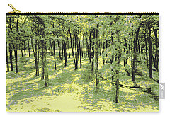 Copse Of Trees Sunlight Carry-all Pouch