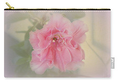 Carry-all Pouch featuring the photograph Coral by Elaine Teague