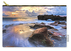 Coral Garden Carry-all Pouch by Debra and Dave Vanderlaan