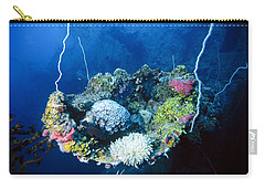Corals On Ship Wreck Carry-all Pouch