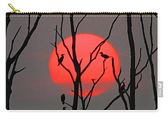 Cormorants At Sunrise Carry-all Pouch
