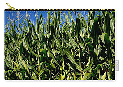 Corn And Wildflowers Carry-all Pouch