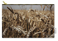 Carry-all Pouch featuring the photograph Corn Field by Vicki Spindler