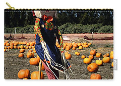 Carry-all Pouch featuring the photograph Corn Mom by Michael Gordon