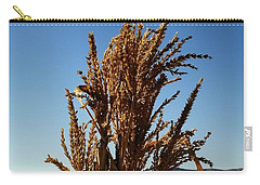 Carry-all Pouch featuring the photograph Corn Top by Michael Gordon