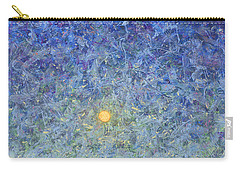 Carry-all Pouch featuring the painting Cornbread Moon by James W Johnson