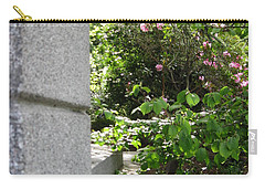 Corner Garden Carry-all Pouch by David Trotter