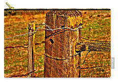 Corner Post At Gate Carry-all Pouch