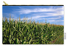 Cornfield And Clouds Carry-all Pouch