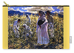 Cornfield In Taos Carry-all Pouch by Pg Reproductions