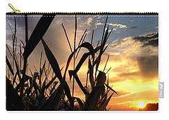 Cornfield Sundown Carry-all Pouch