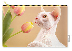 Cornish Rex Cat Carry-all Pouch