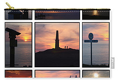 Carry-all Pouch featuring the photograph Cornish Sunsets by Terri Waters