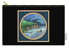 Cornwall Cliffs Carry-all Pouch