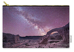 Corona Arch Milky Way Carry-all Pouch by Michael Ver Sprill