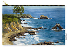 Corona Del Mar California Carry-all Pouch