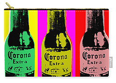 Corona Beer Carry-all Pouch by Jean luc Comperat