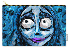 Corpse Bride Phone Sketch Carry-all Pouch by Alessandro Della Pietra