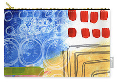 Corridor- Colorful Contemporary Abstract Painting Carry-all Pouch