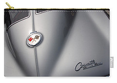 Carry-all Pouch featuring the photograph Corvette Sting Ray 1963 by John Schneider