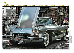 Carry-all Pouch featuring the photograph Corvette by Victor Montgomery