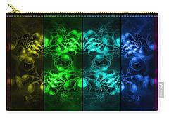 Cosmic Alien Eyes Pride Carry-all Pouch by Shawn Dall