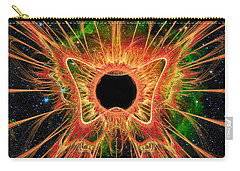 Cosmic Butterfly Phoenix Carry-all Pouch by Shawn Dall