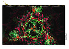 Cosmic Cherry Pie Carry-all Pouch by Shawn Dall
