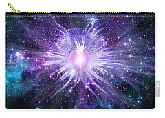 Cosmic Heart Of The Universe Carry-all Pouch by Shawn Dall