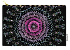 Carry-all Pouch featuring the painting Cosmic Hug by Keiko Katsuta