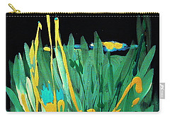 Carry-all Pouch featuring the painting Cosmic Island by Holly Carmichael