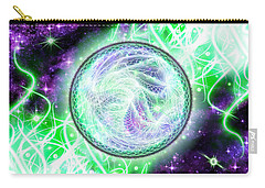 Cosmic Lifestream Carry-all Pouch by Shawn Dall