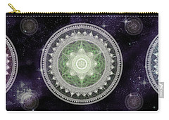 Cosmic Medallians Rgb 2 Carry-all Pouch by Shawn Dall