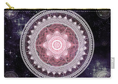 Cosmic Medallions Fire Carry-all Pouch by Shawn Dall