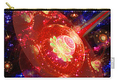 Cosmic Space Station 2 Carry-all Pouch by Shawn Dall