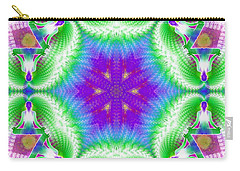 Cosmic Spiral Kaleidoscope 10 Carry-all Pouch
