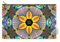 Cosmic Spiral Kaleidoscope 13 Carry-all Pouch